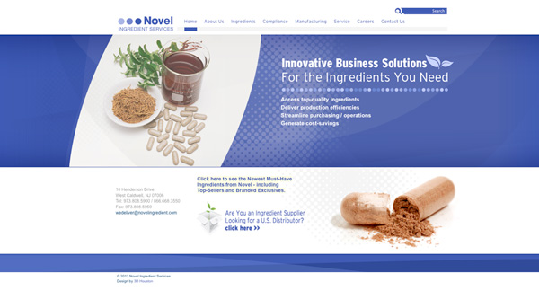 Novel Ingredient Services